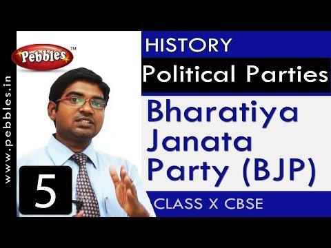 Bharatiya Janata Party (BJP)| Political Parties | History| CBSE Class 10 Social Sciences