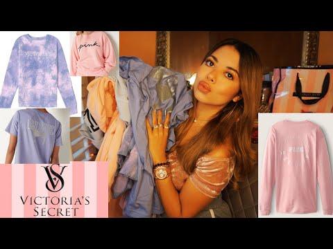 Victoria's Secret & PINK Fall Sweatshirts try on Haul 2021!