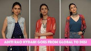 Aditi Rao Hydari Goes From Global To Desi | MissMalini Fashion | Boho Look | MissMalini