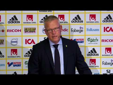Janne Andersson om skadestatusen hos de svenska spelarna - TV4 Sport