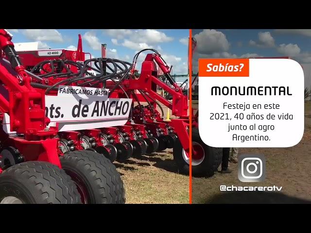 Sembradoras Monumental, Jorge Molini Departmento Ventas nos adelanta conceptos del 2021