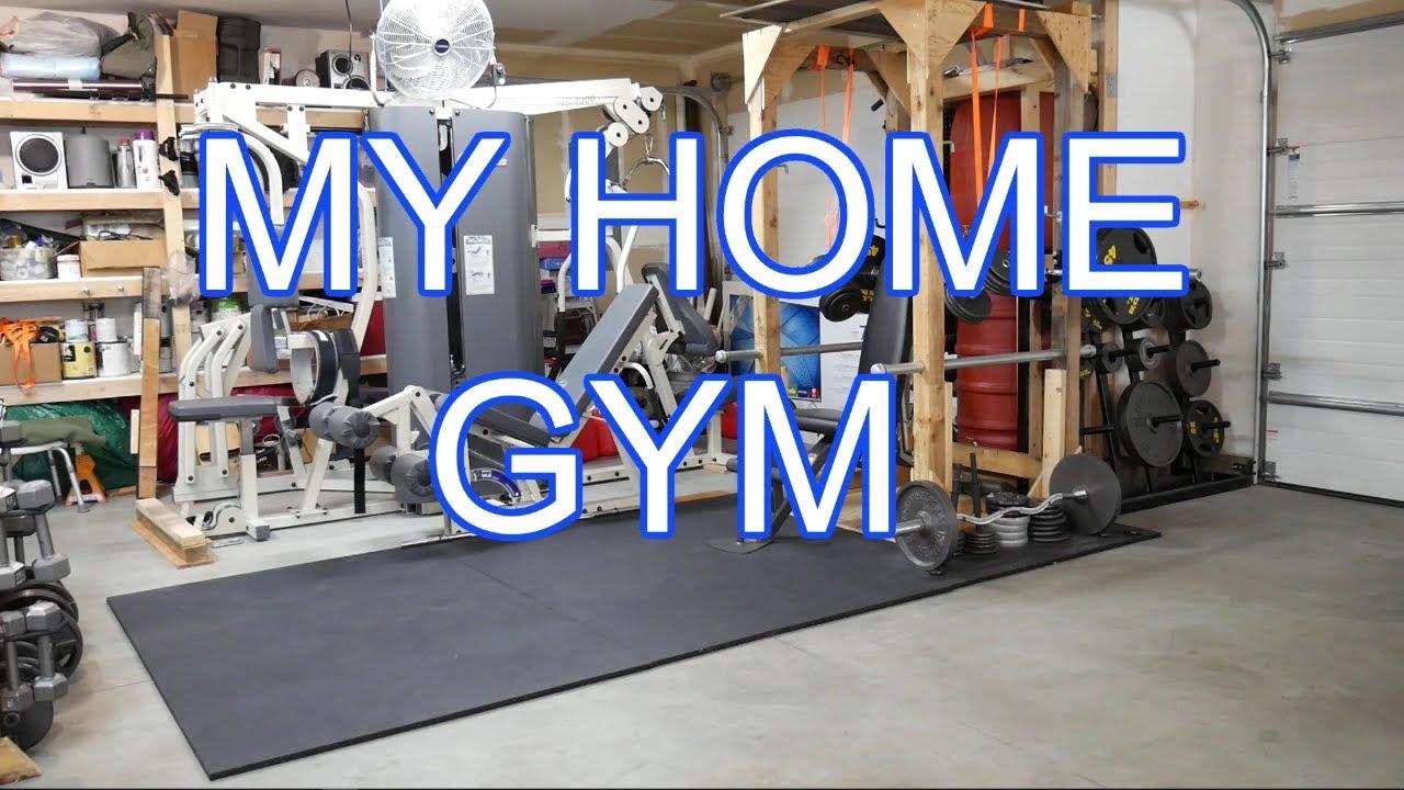 My home gym youtube