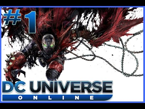 DC Universe Online Walkthrough / Playthrough Spawn Part 1 – Fear Toxin (DCUO) [Hero]