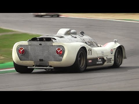 1968 Howmet TX: a Gas Turbine-powered racer in action at Imola circuit!