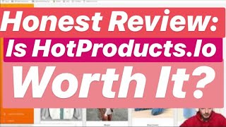 ⚠️Shopify Product Research Tool Review: Is HotProduct.Io Worth it?⚠️