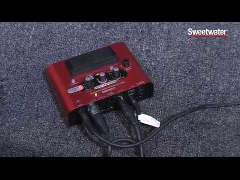 BOSS VE-2 Vocal Harmonizer Pedal Demo - Sweetwater At Summer NAMM 2014