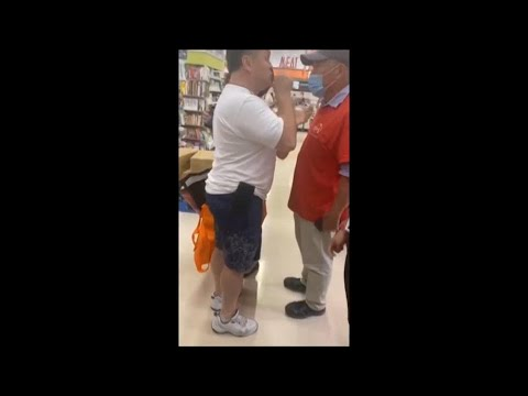 Anti-mask rant turns into racist tirade inside Mississauga grocery store