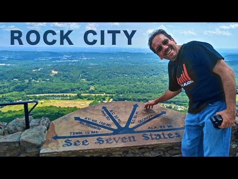 Rock City: I Can See Seven States... Maybe and then Nashville | Traveling Robert