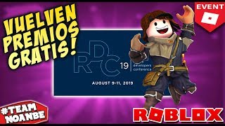Roblox Events with Catalogue Awards Roblox in Spanish