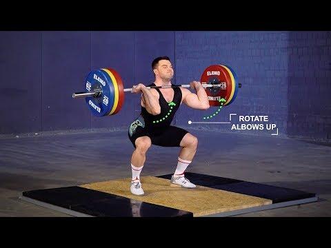 The Clean Progression / Matrix FX / weightlifting