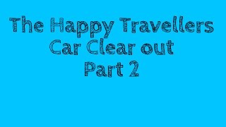 #65 Daily VLOG #17   Car Clearout Part 2   Full Time RV Caravan Life