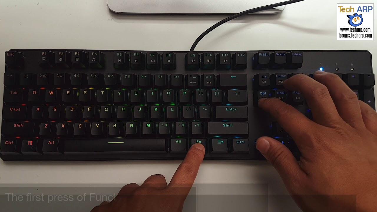 The Tecware Phantom RGB Mechanical Keyboard Review | RGB