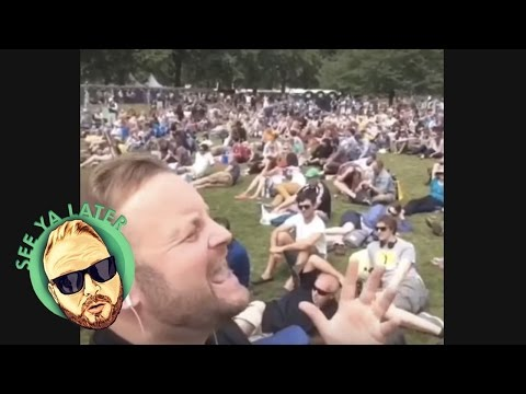 Singing in Public! | Arron Crascall