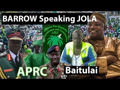 Barrow Speaking Jola In Foni