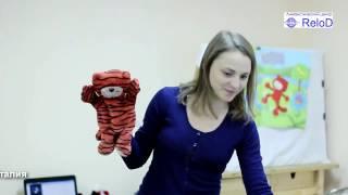 Урок в студии Funny bee с преподавателем из Италии Сильвией (Лингвистический центр ReloD Киров)