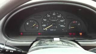 Suzuki Swift 2000 -26 Cold Start