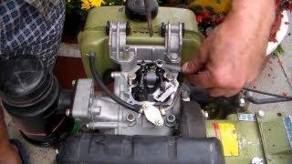 Регулировка зазора клапанов двигателя мотоблока(Если Вы будете применять вместо щупа лезвие, то убедитесь в его толщине, можно измерять микрометром или..., 2013-09-18T20:14:37.000Z)