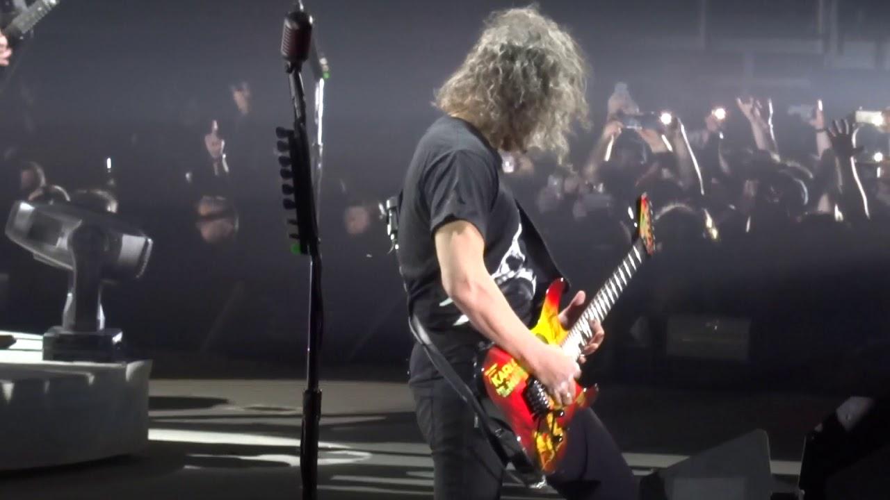 Metallica - Intro, Hardwired (WorldWired Tour - Budapest ...