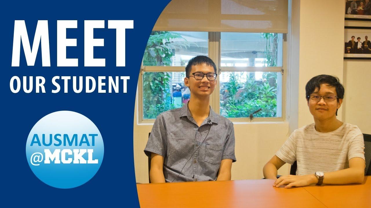 AUSMAT@MCKL | Meet our students, Yang Yi and Jun Hong