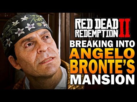 Breaking Into Angelo Bronte's Mansion! Red Dead Redemption 2 Secrets [RDR2] thumbnail