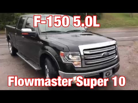 2014-ford-f-150-5.0l-exhaust-w/-flowmaster-super-10!!!