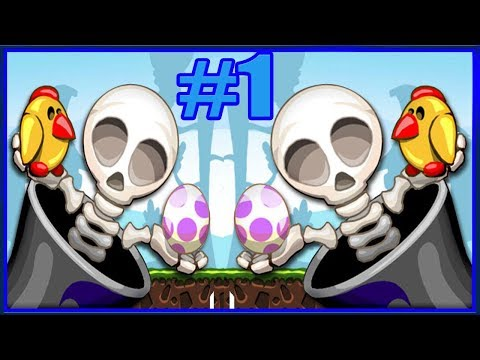 КАК СТРЕЛЯТЬ СКЕЛЕТИКОМ #1 Игровой мультик для детей АТАКА СКЕЛЕТОВ Падающий скелет Bury my bones2