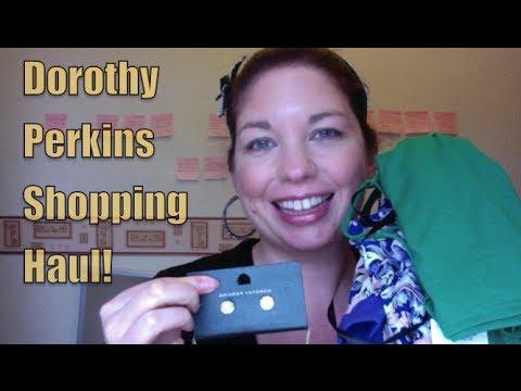 Dorothy Perkins Clothing Haul   Caroline Towers