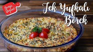 Tek Yufka ile Çok Kolay Patatesli Börek Tarifi - Kahvaltıya Değişik Alternatif Pratik Börek