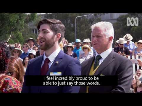 New citizens reflect on becoming an Australian citizen