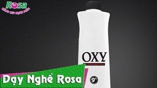 Nhuộm tóc: Dung dịch oxy trợ nhuộm nâng tông và hạ tông