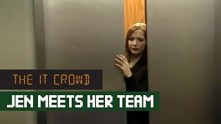 Jen Meets Roy & Moss | The IT Crowd Series 1 Episode 1 Yesterday's Jam