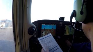 Start-Up Checklist for a Cessna 172SP G1000