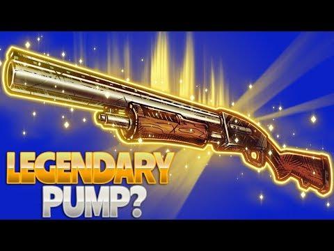 New Fortnite Weapon Pulse Gernade And New Legendary Pump Shotgun