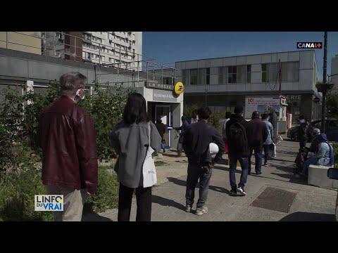 80% des bureaux de poste étaient fermés en France pendant la crise sanitaire