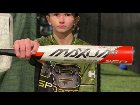2020 Easton Maxum USSSA -5 & 2020 Easton ADV 360 -8 USA 12U Youth Baseball Bats Video Review
