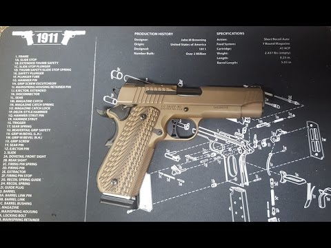 new sig sauer 1911 emperor scorpion fastback review