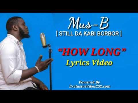 Mus-B -Long Time (Lyrics Video) 2020  