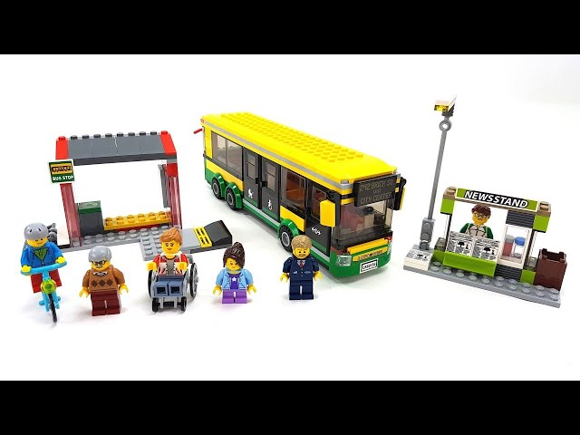LEGO City 60154 - Busbahnhof (Speed Build)