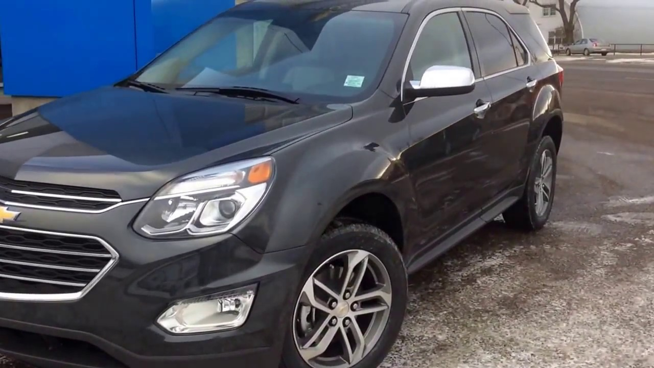 2017 Chevrolet Equinox Premier Ltz Awd With Ride Handling Suspension And Protection Package
