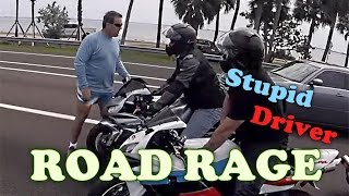 ANGRY PEOPLE vs BIKERS & Stupid Drivers! Road Rage Compilation 2016 !