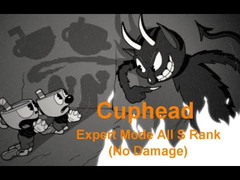 Cuphead - All Bosses S ranks 【Expert, No Damage, Perfect Scores】Dr.D Gaming 2017