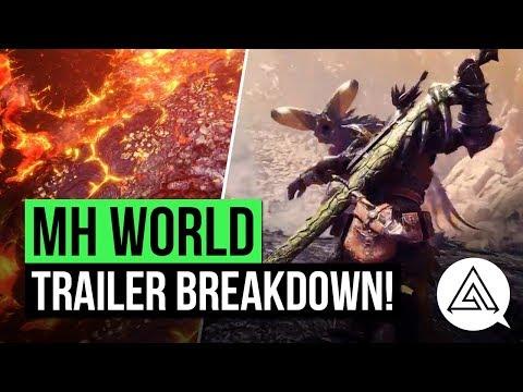 Monster Hunter World | Volcano Map, More Returning Monsters & More! 'Third Fleet' Trailer Breakdown