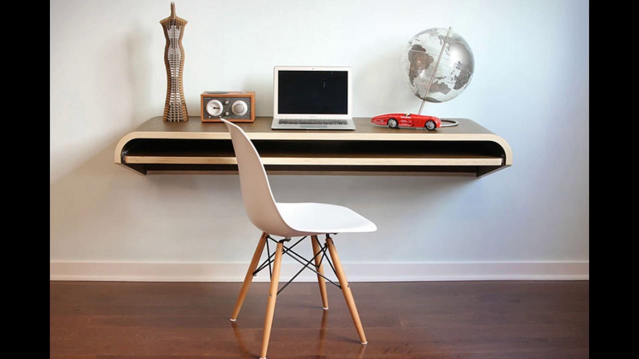 floating wall desk  youtube - floating wall desk