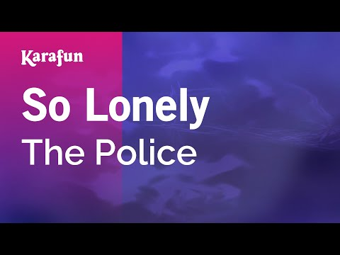 Karaoke So Lonely - The Police *