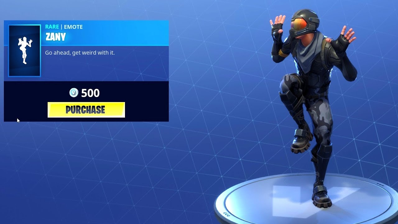Fortnite Dance - ZANY (1 Hour)