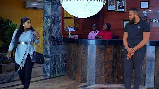 IT WAS LOVE AT FIRST SIGHT WHEN THE HANDSOME HOTEL GUESTS SET THEIR EYES ON THE EACH OTHER -nigerian