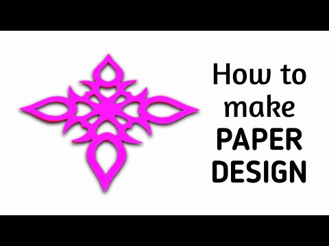 DIY Kirigami / Paper Cutting Craft Designs, Patterns & Templates - 2.