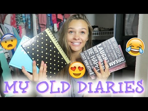 READING MY OLD DIARIES!