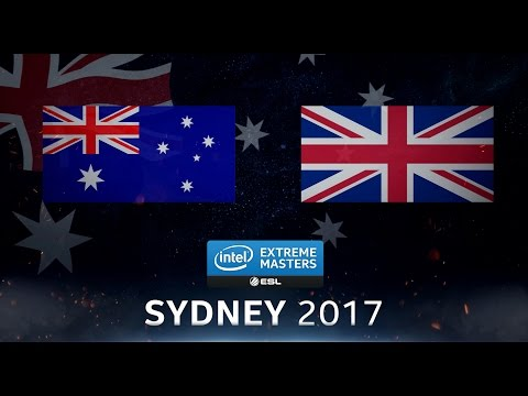 CS:GO - Team Australia vs. Team UK [Cache] - Showmatch - IEM Sydney 2017
