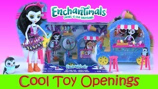 New Enchanimals Wheel Frozen Treats Preena Penguin And Jayla Toy Review Toy Giveaway
